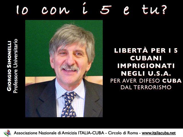 Giorgio Simonelli per i Cinque